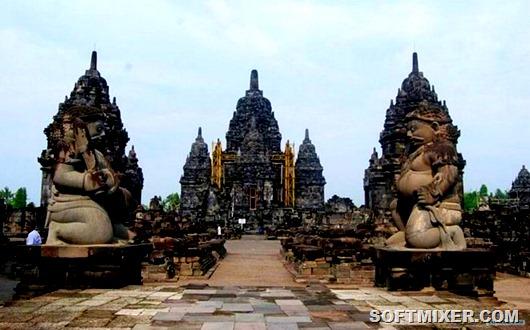 Храм-Индонезии-Боробудур